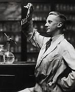 Dr. H.L. Riley, chemist, England, UK, 1931