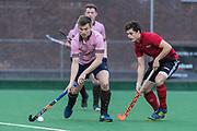 Southgate v Teddington - Men's Hockey League East Conference, Trent Park, London, UK on 24 March 2018. Photo: Simon Parker