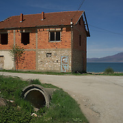 Unfinished building in Stenje, FYR Macedonia