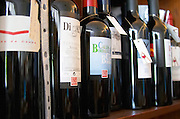 Wine shop. Diga Tinto Bairrada, Calda Bordaleza. Lisbon, Portugal