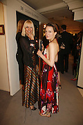 Virginia and Daisy Bates, Gala champagne reception and dinner in aid of CLIC Sargent.  Grosvenor House Art and Antiques Fair.  Grosvenor House. Park Lane. London. 14 June 2006. ONE TIME USE ONLY - DO NOT ARCHIVE  © Copyright Photograph by Dafydd Jones 66 Stockwell Park Rd. London SW9 0DA Tel 020 7733 0108 www.dafjones.com