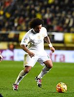 Real Madrid's Marcelo during La Liga match. December 13, 2015. (ALTERPHOTOS/Javier Comos)