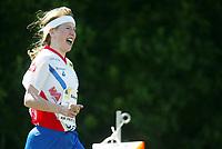 Orientering, 21. juni 2002. NM sprint. Ragnhild Bente Andersen, Halden.