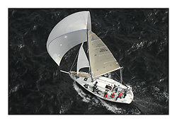 Sailing - The 2007 Bell Lawrie Scottish Series hosted by the Clyde Cruising Club, Tarbert, Loch Fyne..Brilliant first days conditions for racing across the three fleets...IRC Class 2 No Naked Flames IRL11109.