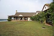 Uganda, A lodge on the shores of Lake George