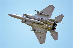F-15 Eagle From Underneath