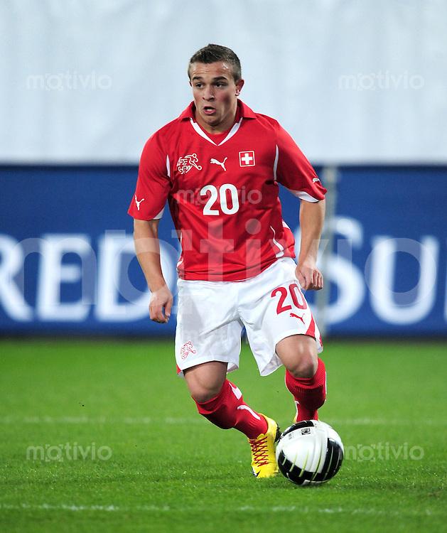 Fussball International:  Testspiel  03.03.2010 Schweiz - Uruguay Xherdan Shaqiri (SUI)