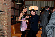 HEATHER KERZNER; CHRISTOPHER KANE, BFC/Vogue Designer Fashion Fund winner Christopher Kane announcement. Almada, 33 Dover Street, London,2 February 2011 -DO NOT ARCHIVE-© Copyright Photograph by Dafydd Jones. 248 Clapham Rd. London SW9 0PZ. Tel 0207 820 0771. www.dafjones.com.