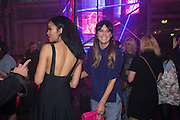SARAH JANE CRAWFORD; DJ; LILAH PARSONS; ;  Club DKNY in celebration of DKNYARTWORKS hosted by Cara Delevingne  at The Fire Station, Lambeth High St. London. 12 June 2013