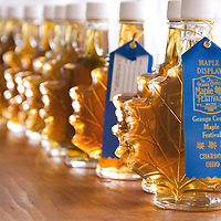Any syrup in the producers category of the Maple Syrup Contest that scores well with the judges is awarded a blue ribbon and put up for auction. The syrup that gets the highest overall score wins first place. A first place syrup can be worth thousands.