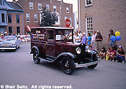 Hanover, PA, York Co., Parade, Antique Utz Potato Chips Delivery Van