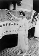 Alice Paul 1850.  American feminist and social reformer, born into a Quaker family in Moorestown, New Jersey.   She devoted her whole career to fighting for equal rights for women.