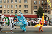 September 3, 2012- Brooklyn, New York:  Atmosphere at the 45th Annual West Indian Day Labor Day Celebration held on September 3, 2012 along Brooklyn's famed Eastern Parkway. It's one of New York City's most popular parades, a cultural festival that celebrates West Indian history, culture, music and food. Attended by as many as two million people. (Photo by Terrence Jennings)