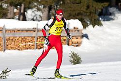 12.12.2010, Biathlonzentrum, Obertilliach, AUT, Biathlon Austriacup, Verfolgung Men, im Bild Peter Brunner (AUT, #27). EXPA Pictures © 2010, PhotoCredit: EXPA/ J. Groder