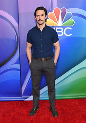 February 20, 2019 - Hollywood, California, U.S. - Milo Ventimiglia on the carpet at the NBCUniversal Mid Season Press Junket at Universal Studios. (Credit Image: © Lisa O'Connor/ZUMA Wire)