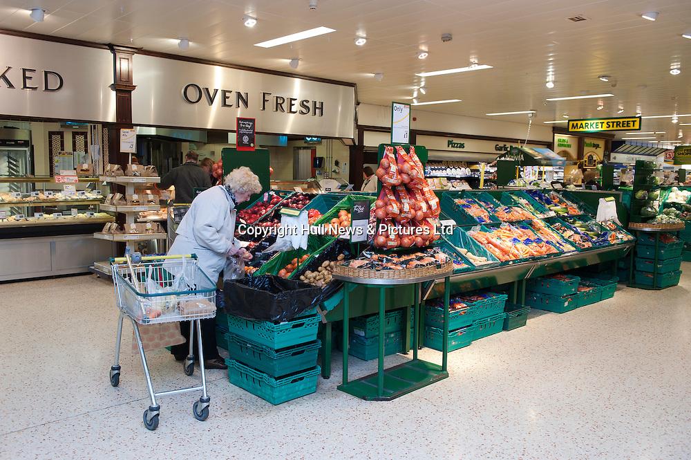 Morrisons Supermarket, UK.