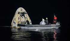 NASA's SpaceX Crew-1 Splashdown - 1May 2021