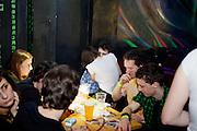 "Club Matrix in Prague 3 during the music festival event ""Zizkov night"" (Zizkovska noc)."