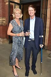 David & Lady Isabella Naylor-Leyland at the Victoria & Albert Museum's Summer Party in partnership with Harrods at The V&A Museum, Exhibition Road, London, England. 20 June 2018.