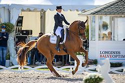 SUESS Jessica (GER), Duisenberg 2<br /> Deutsche Meisterschaft der Dressurreiter<br /> Klaus Rheinberger Memorial<br /> Nat. Dressurprüfung Kl. S**** - Grand Prix Special<br /> Balve Optimum - Deutsche Meisterschaft Dressur 2020<br /> 19. September2020<br /> © www.sportfotos-lafrentz.de/Stefan Lafrentz