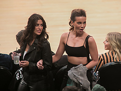 October 20, 2018 - Los Angeles, California, U.S - Kate Beckinsale attends the NBA game between the Los Angeles Lakers and the Houston Rockets on Saturday October 20, 2018 at the Staples Center in Los Angeles, California. (Credit Image: © Prensa Internacional via ZUMA Wire)