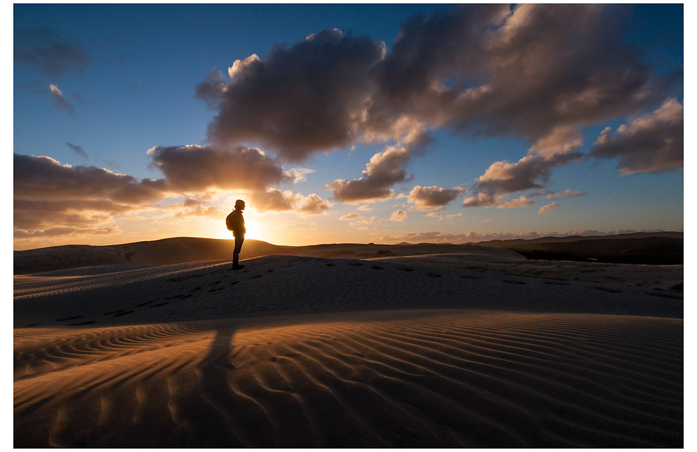 Te Paki Sand Dunes, Cape Reinga, Northland
