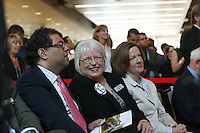 Candid event photography coverage of the Grand Opening of the brand new South Campus of Bow Valley College in Calgary. the event was extremely well attended and included Naheed Nenshi (Mayor of Calgary) and Alison Redford (the Premier of Alberta) among the dignitaries...©2013, Sean Phillips.http://www.RiverwoodPhotography.com