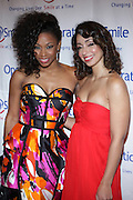 l to r: D.Woods and Mya at The Junior Smile Couture Event 2009 Benefiting Operation Smile In Association with the C.E.M Group held at Captiale on April 23, 2009 in New York City.