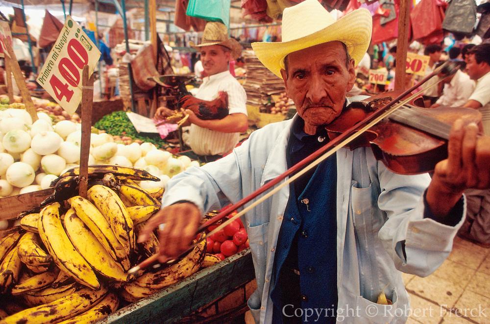 MEXICO, MARKETS Xochimilco; produce market