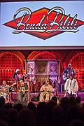 Staff Benda Bilili perform after their UK film premiere at Union Chapel, London.