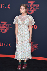 """Ashley Tisdale attends the premiere of Netflix's """"Stranger Things"""" Season 3 on June 28, 2019 in Santa Monica, CA, USA. Photo by Lionel Hahn/ABACAPRESS.COM"""