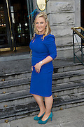 Edel Quinlan, Kilkenny,  at the Hotel Meyrick Most Stylish Lady event on ladies day of The Galway Races. Photo:Andrew Downes