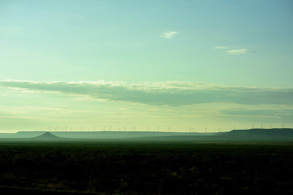 West Texas, Texas - August 27, 2016: landscapes.<br /> <br /> CREDIT: Matt Roth