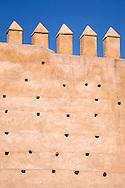The Medina's medieval wall, fes el Bali, Fes, Morocco