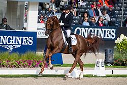 Jurado Lopez Severo, ESP, Springbank II VH <br /> World Championship Young Dressage Horses - Ermelo 2019<br /> © Hippo Foto - Dirk Caremans<br /> Jurado Lopez Severo, ESP, Springbank II VH