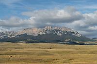 Sawtooth Ridge, Rocky Mountain front ranges near Augusta Montana