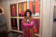 JO KING, Josephine King exhibition of self-portraits RIFLEMAKER GALLERY. . Beak St. London. 13 September 2010. -DO NOT ARCHIVE-© Copyright Photograph by Dafydd Jones. 248 Clapham Rd. London SW9 0PZ. Tel 0207 820 0771. www.dafjones.com.