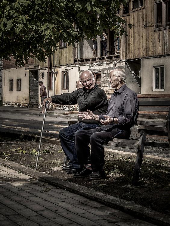 People in Tsageri