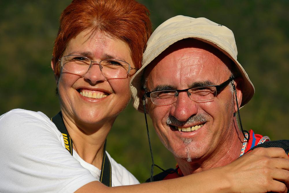 Happy, Slovenian hikers, North Velebit National Park,  Velebit Nature Park, Rewilding Europe rewilding area, Velebit  mountains, Croatia