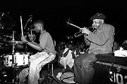 Photographs from the series<br /> Bright Moments In Jazz <br /> by Howard E. Moss