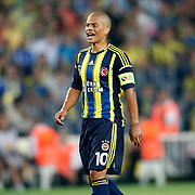 Fenerbahce's Alex De Souza during their UEFA Europa League Group Stage Group C soccer match Fenerbahce between Marseille at Sukru Saracaoglu stadium in Istanbul Turkey on Thursday 20 September 2012. Photo by TURKPIX