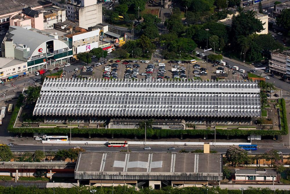 Belo Horizonte_MG, Brasil...Imagem aerea da rodoviaria de Belo Horizonte...Aerial view of bus station in Belo Horizonte...Foto: BRUNO MAGALHAES / NITRO