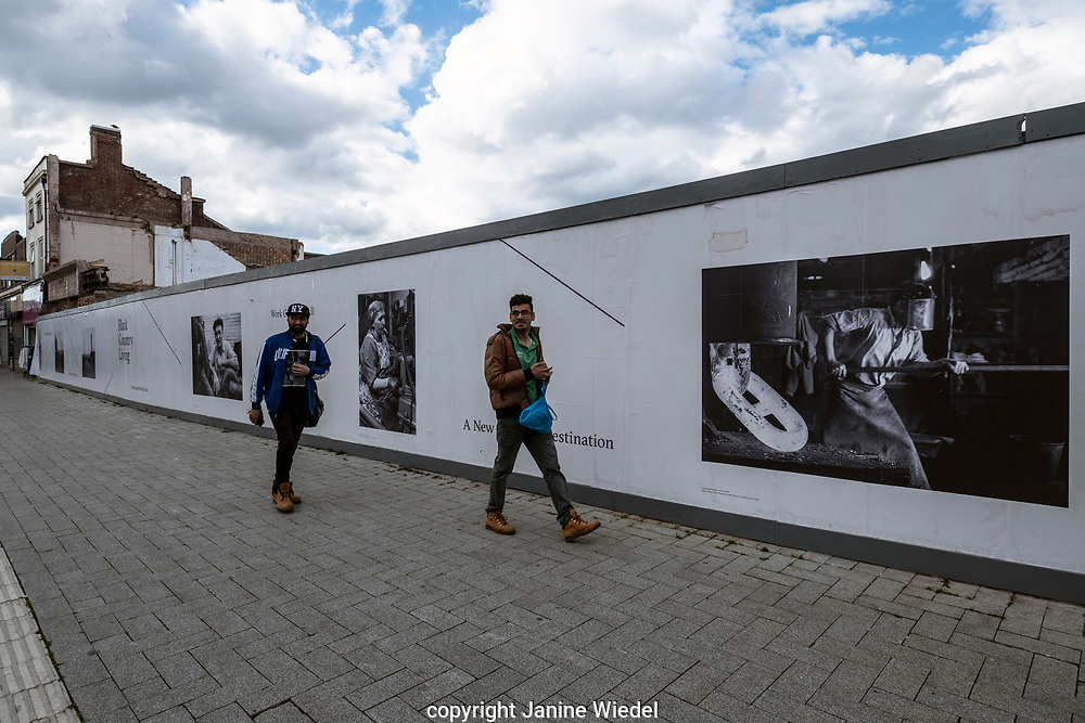Exhibition in West Bromwich on hoardings and mobile advertising