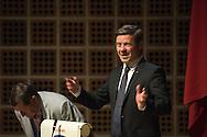 Velkomst v/ borgmester Thomas Kastrup-Larsen. Aalborg Haandværkerforening, de lokale laug og mesterforeninger, Tech College og Aalborg Kommunes legatuddelinger. Foto: © Michael Bo Rasmussen / Baghuset. Dato: 10.05.16