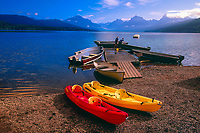 Lake McDonald, Glacier National Park, Montana USA