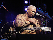 Legendary blues guitarist B.B. King plays to his hometown fans in Indianola Mississippi.