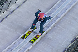 29.12.2018, Schattenbergschanze, Oberstdorf, GER, FIS Weltcup Skisprung, Vierschanzentournee, Oberstdorf, Training, im Bild Karl Geiger (GER) // Karl Geiger of Germany during his Practice Jump for the Four Hills Tournament of FIS Ski Jumping World Cup at the Schattenbergschanze in Oberstdorf, Germany on 2018/12/29. EXPA Pictures © 2018, PhotoCredit: EXPA/ Peter Rinderer
