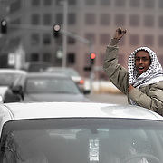 Rally for Egypt in Kansas City MO and protest against the Hosni Mubarak government in Egypt.