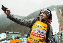 Adam Malysz (POL) making selfie after the Ski Flying Hill Men's Individual Competition at Day 4 of FIS Ski Jumping World Cup Final 2017, on March 26, 2017 in Planica, Slovenia. Photo by Vid Ponikvar / Sportida