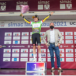 ARNHEM (NED) CYCLING, SIMAC LADIES TOUR,   August 29th 2021, <br /> Marianne Vos sprint jersey